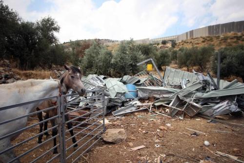 Israel derriba instalaciones agrícolas y comerciales en la ocupada Cisjordania