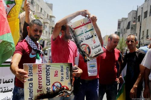 El Consejo Revolucionario de Fatah rechaza el acuerdo del siglo