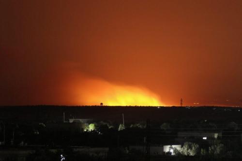 Turquía toma represalias contra el ataque del régimen de Assad…