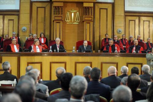 Argelia: El presidente y el subdirector general del Tribunal Supremo…