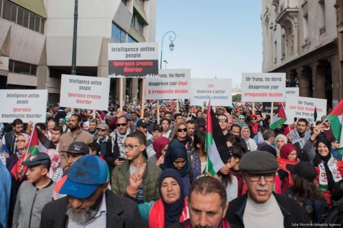 Los marroquíes denuncian la participación de su país en el…