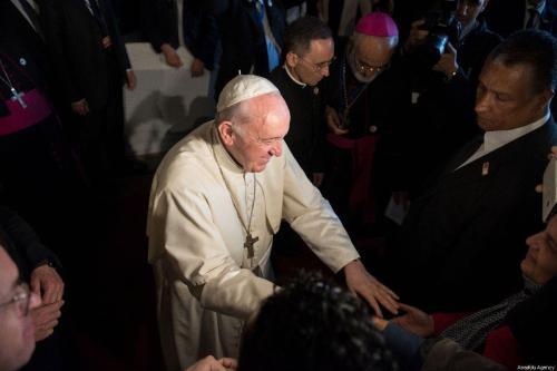 El enviado del Papa transmite al líder sirio su preocupación…