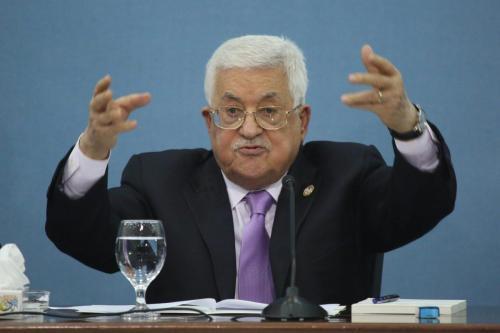 Abbas ordenó a las fuerzas de la Autoridad Palestina que…