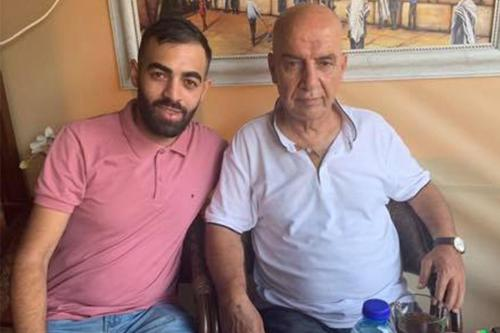 Altos funcionarios de seguridad de la Autoridad Palestina beben té…