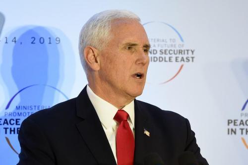 Pence de Estados Unidos promete que no permitirá que Irán…
