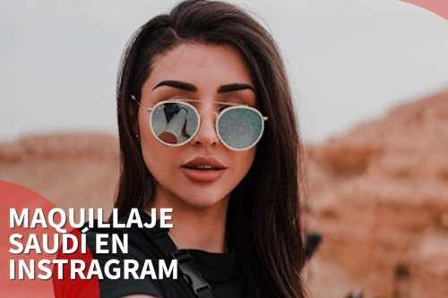 Maquillaje saudí en las redes