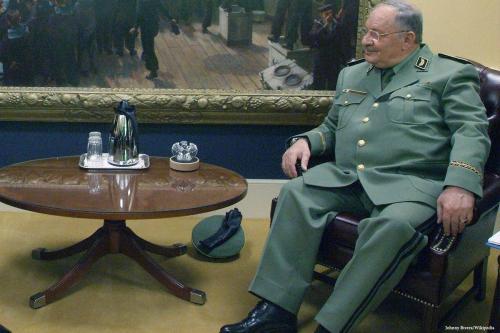 El Jefe de Estado Mayor argelino revela un complot frustrado…