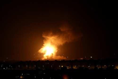 Israel ataca Gaza después de que las alarmas por los…