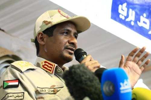 """Hamedti de Sudán: """"No tenemos detenidos políticos"""""""