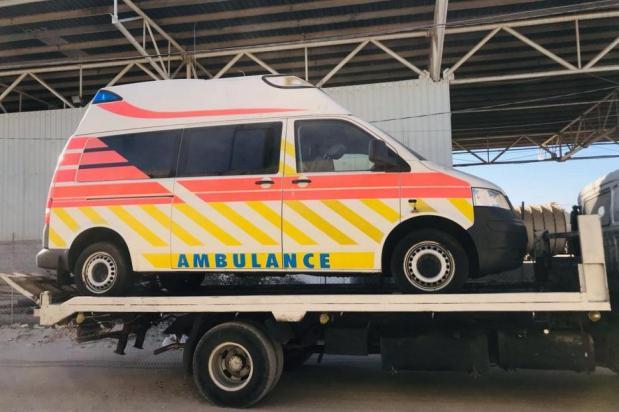 Un convoy de ayuda con equipo médico llega a Gaza entregado por Miles of Smiles