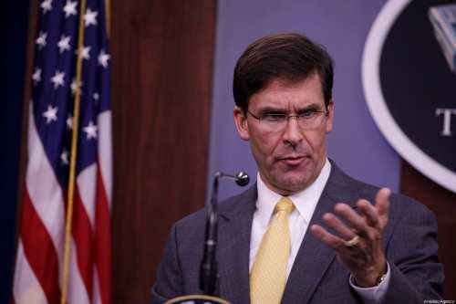 """Jefe del Pentágono: """"Estados Unidos mantendrá a unos 600 soldados…"""
