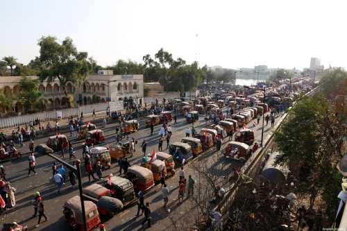 Iraq: Los manifestantes vuelven a cerrar el puerto de Umm…