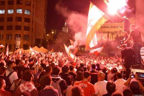 Manifestantes libaneses se enfrentan con partidarios de Hezbolá y Amal…