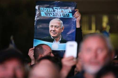 Miles de personas se manifiestan en apoyo de Netanyahu tras…