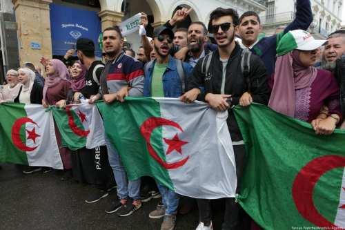 Inicio del viernes nº 41 de protestas en Argelia, en…