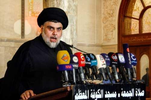 Sadr de Iraq pide a sus seguidores que continúen las…