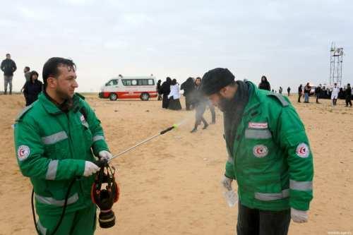 Italia envía un equipo médico a la ocupada Gaza