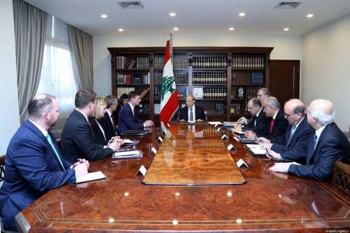 """Aoun: """"Líbano enfrenta una crisis sin precedentes"""""""