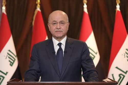 El presidente de Iraq presenta su dimisión al parlamento