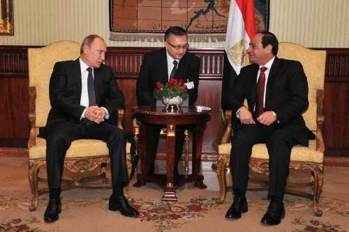 Sisi y Putin coinciden en la importancia de resolver la…