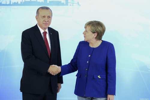 Turquía y Alemania discuten sobre Siria y Libia