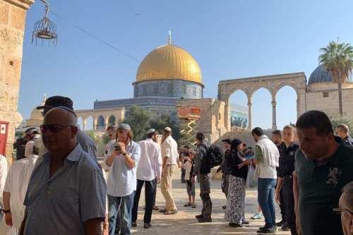 Jerusalén: más de 23 incursiones en la mezquita Al-Aqsa en…