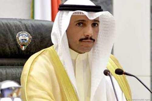 """El presidente del parlamento kuwaití arroja el """"acuerdo del siglo""""…"""