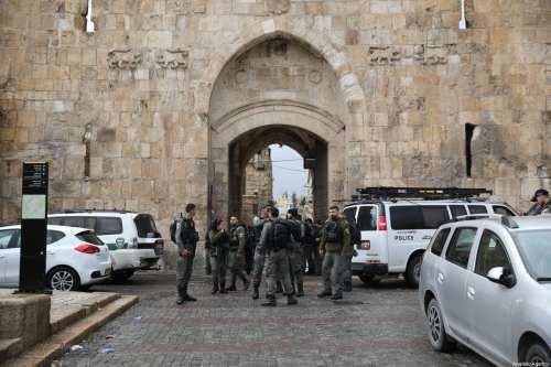 La policía israelí mata a un hombre palestino en Jerusalén