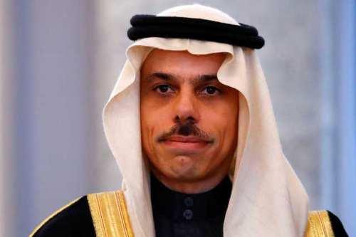 Ministro saudí pide conversaciones directas entre israelíes y palestinos