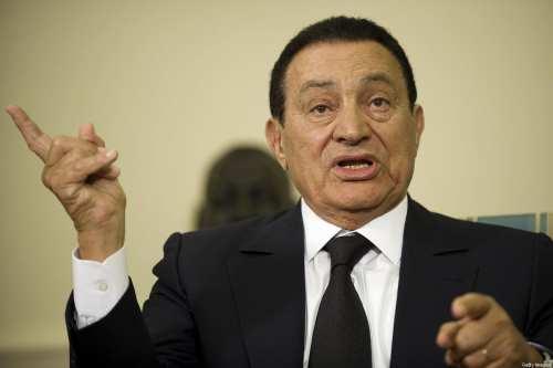 Muere el dictador egipcio Hosni Mubarak