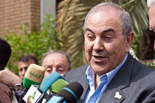 Ayad Allawi condena la interferencia de Irán en la formación…