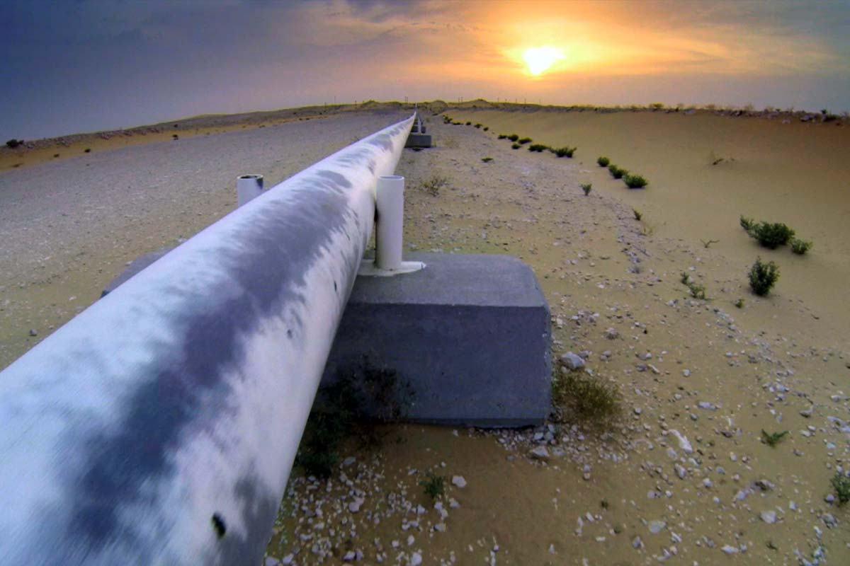 Gasoducto [foto de archivo]
