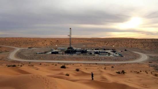 Campo de gas natural de Nawara