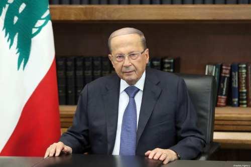 Aoun: La economía libanesa en recesión