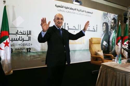 El presidente de Argelia dona su salario para combatir el…