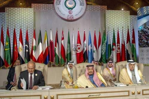 La destrucción de los grupos de la acción árabe conjunta