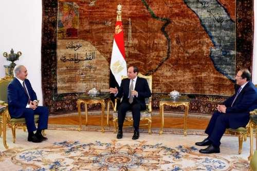 Egipto busca apoyo regional contra Turquía en Libia