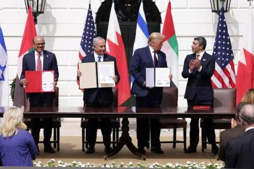 Los EAU e Israel tienen un programa de normalización para…