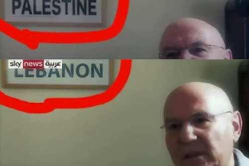 """Sky News Arabia, propiedad de los EAU, retira a """"Palestina""""…"""