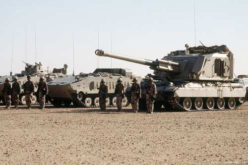 Los saudíes establecen una base militar en una reserva natural…