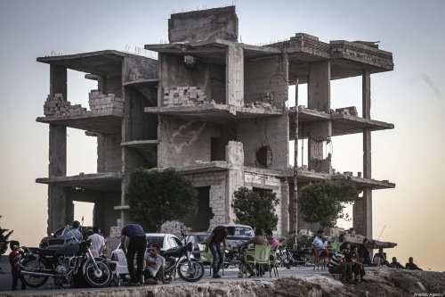 El bombardeo de Idlib por parte de Rusia y Siria…