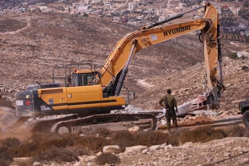 Más de un millón de palestinos desplazados y 166.000 hogares…