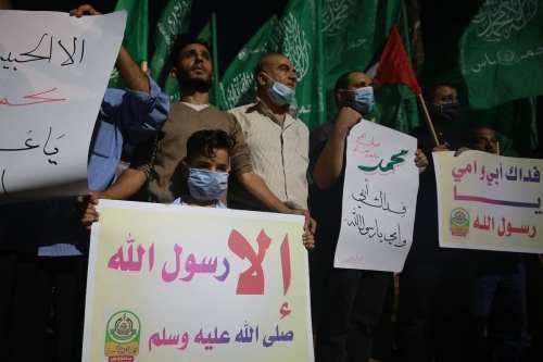 Hamas: Las caricaturas francesas provocativas para el Islam y sus…
