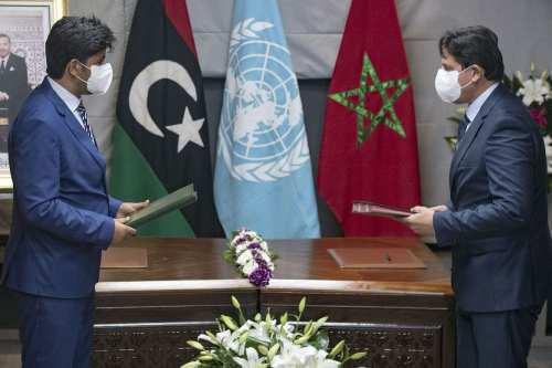 Las partes libias reanudan las conversaciones en Marruecos para unificar…