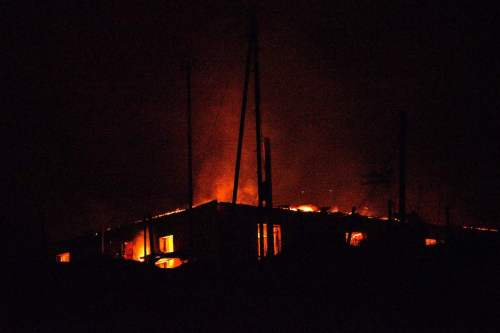 Azerbaiyán: Los armenios convirtieron Aghdam en una ciudad en ruinas…