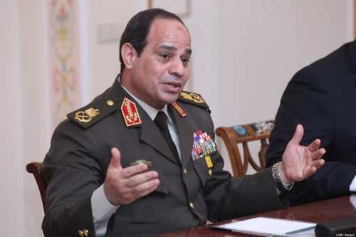 Sisi podría haber restablecido a Egipto como un actor regional…