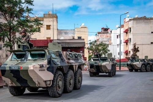 Marruecos realiza operaciones militares en el paso fronterizo de Guerguerat