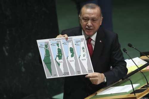 El turco Erdogan reitera su promesa de trabajar por una…