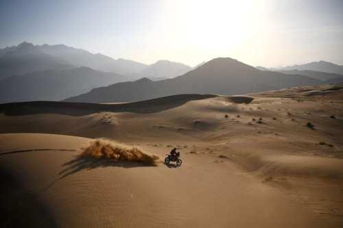 Israelíes se unieron al Rally Dakar en Arabia Saudita