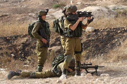 16 palestinos resultaron heridos por el ejército israelí